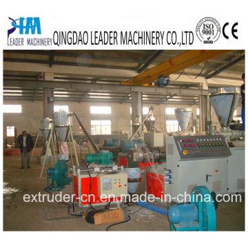 Línea de granulación de PVC Granulador de granulación de PVC Línea de granulación de la máquina