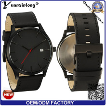 Yxl-162 Fashion New Style Quartz Watch Promotion Businessman Luxury Vogue Men′s Wrist Watch Custome Logo OEM Mvmt Watch