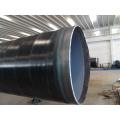 API 3lpe revestido espiral Saw Tubo de aço para gás de água