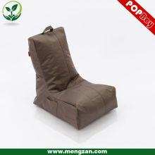 Chaise canapé-lit simple marron, sac à micro-ondes / sachet de haricots hydrofuge