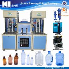 2017 Top Qualität Halbautomatische Flasche Zwei Hohlräume Blasmaschine in China