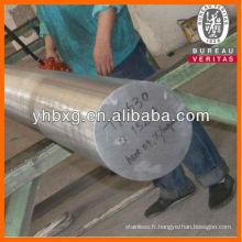 AISI 316L acier inoxydable barres ronde pour arbre de navire
