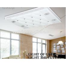 La mejor iluminación cómoda la Plaza de lámpara de salón de moda led luz de techo