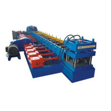 FX highway guardrail road restraint construction roll forming machine