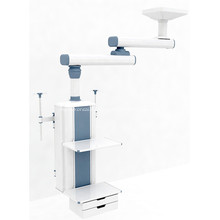 Ceiling dual arm manual surgical pendant