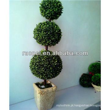 china alibaba venda por atacado de plástico bonsai pote