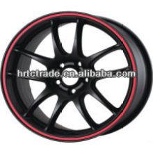 15/16 pulgadas hermosa 4-5 agujero 100-114.3mm réplica de la rueda de coche deportivo