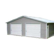 Low Cost High Quality Light Metal Frame Steel Structure Kits Garage Shed Design
