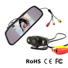 Rear Mirror Monitor Camera System with 170degree Mini Camera