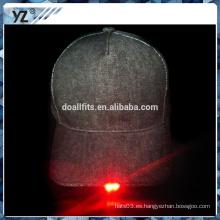 Diseñe su propio estilo 5 gorra de béisbol del panel LED