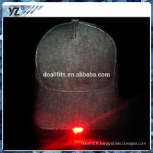 Concevez votre propre style 5 bonnet de baseball LED