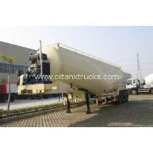 39cbm Dry Bulk Tank Trailer For Talcum Powder , Cement Coal