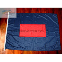 100% Polyester Double Colored Flags