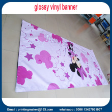 Banner in PVC 500gsm bordato con bordi in velcro