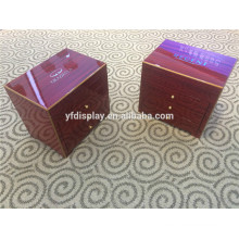 custom made different sized gift wooden jewelry package box
