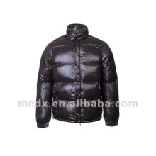 Moda de marca abajo abrigo acolchado para los hombres
