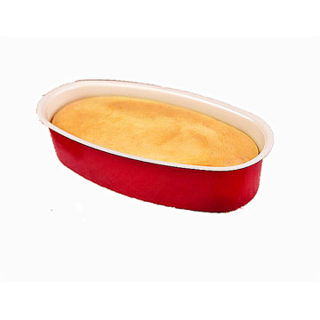 Oval Shaped Chinese Red Cheese Cake Mold