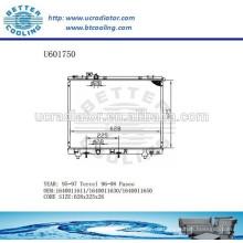 RADIATOR 1640011611/1640011630/1640011650 für TOYOTA 95-97 Tercel Hersteller und Direktverkauf!