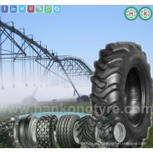 Tractor de la granja Posición de la rueda del neumático Posición delantera Neumático