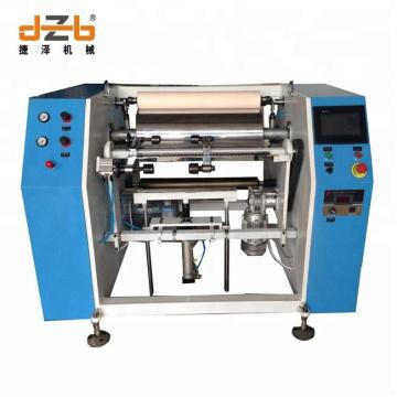 Manufacturers Semi-auto Aluminium Foil Rewinding Machine