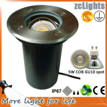 High Power RGB LED Under Ground Light with RGB GU10 LED Lamp
