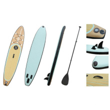 11 'Wood Grain Popular Pattern Sup Board, gonflable Stand up Paddle Board, Surf Board