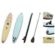 11 madeira grão Popular Sup placa do teste padrão, inflável pé Paddle Board, prancha de Surf