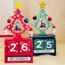 Décoration de Noël Unique Beau calendrier de Noël pour la décoration de table