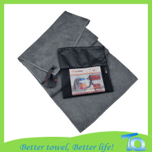 Suede Microfiber Sports Travel Berkemah GYM Towel
