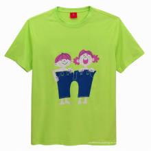 Nuevo diseño personalizado camiseta de impresión infantil