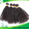 Extensão do cabelo humano de Remy do cabelo do Virgin da qualidade superior da categoria 7A