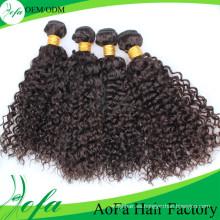 Extensión del cabello humano de Remy del pelo virginal de calidad superior del grado 7A