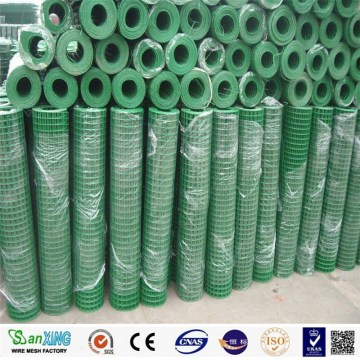 PVC coated weled square fencing wire