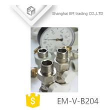 EM-V-B204 Manul Nickel Latón control de temperatura válvula de radiador termostática