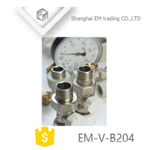 EM-V-B204 Manul Nickel Brass temperature control thermostatic radiator valve
