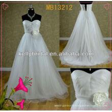 Elegant wedding dress /bridal gown zipper back