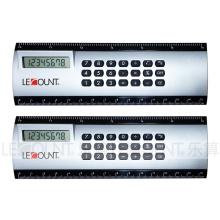 8 цифр Калькулятор линейки ABS с 6-дюймовым измерительным линейным регулятором (LC581A)