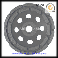 Double Rows Grinding Cup Wheel for Shaping of Marble Granite