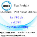 Shenzhen Port Sea Freight Shipping ke Port Sultan Qaboos