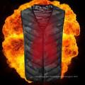 Chaleco térmico térmico de la motocicleta térmica térmica impermeable