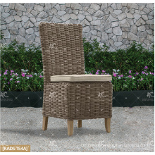 ALAND COLLECTION - Hot trendy 2017 UV resistance Wicker PE Rattan Dining set table and 4 Armless chairs Outdoor Garden Furniture