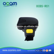 OCBS-R01 Mini wireless 1d bluetooth ring barcode scanner for tablet PC
