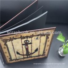 Спираль фото ahlbum, бумага ручной работы в записках стиль Фотоальбом