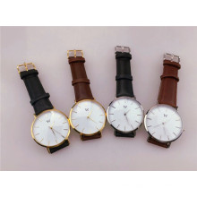 Прямая Цена завода DW часы часы из нержавеющей стали Кварцевые часы (ДЦ-1011)