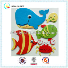Home decor EVA animal sticker for kids