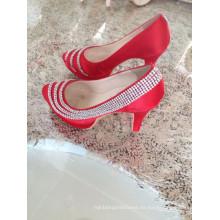Zapatos de vestir de las señoras de la boda de Fshion (HCY02-1600)