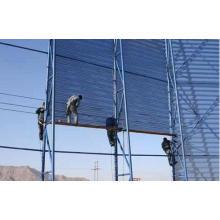 Порошковая защита от ветра без пыли