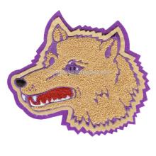 Wolf Head Custom Brand Custom Wholesale Big Fabric