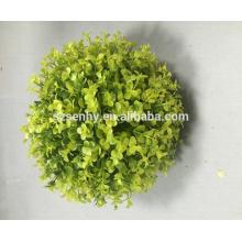 2017 Decoración de la planta artificial bola de flores de hierba de plástico de colores