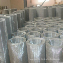 Maille en métal enduite d'acier inoxydable de PVC